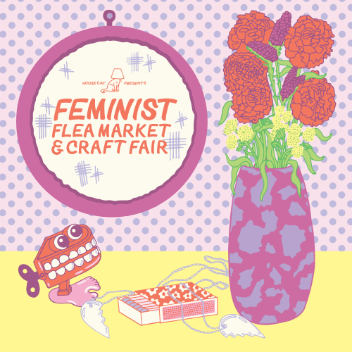 Feminist Flea Market & Craft Fair: Benefit for WOAR
