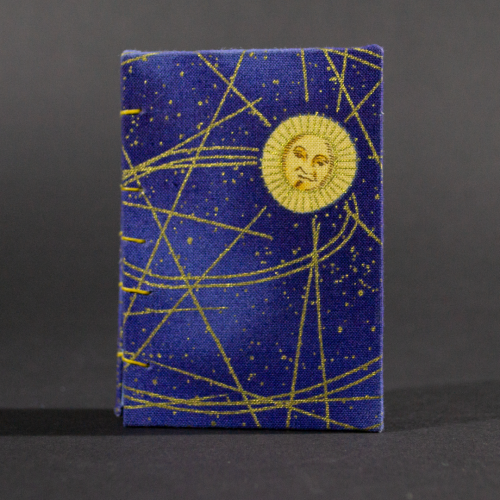 Cover of celestial mini Coptic book