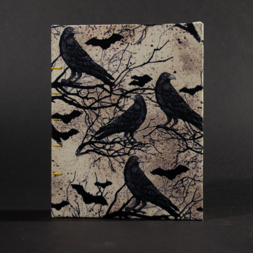 Cover of bat and raven octavo Coptic book